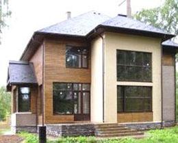 Остекление коттеджей и загородных домов от ООО EVEREST