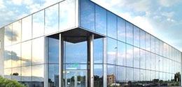Алюминиевые фасады созданы из каленого стекла