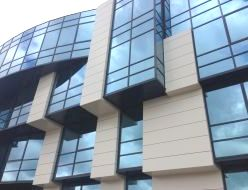 Алюминиевый фасад технологичен в монтаже