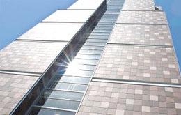 Вентилируемый фасад из керамогранита от Эверест