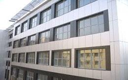 Вентилируемый фасад из металлокассет позволяет потенциально сэкономить