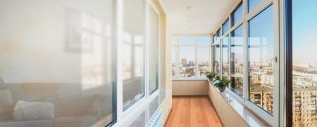 фасадное остекление лоджий и балконов