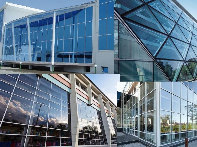 фото алюминиевых фасадов