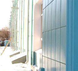 Монтаж навесных вентилируемых фасадов от компании Эверест