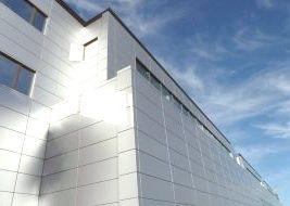 Навесной вентилируемый фасад от компании Эверест